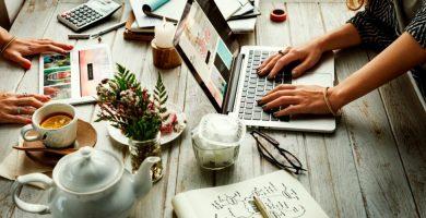 marketing de té online